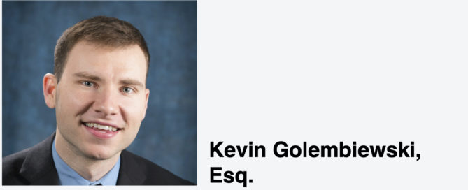 Headshot of Kevin Golembiewski, Esq.