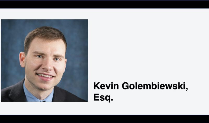 Headshot of Kevin Golembiewski, Esq.